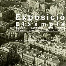 EXPOSICIÓ EIXAMPLE. BXPI