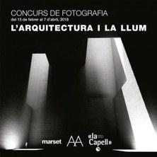LLIURAMENT PREMIS CONCURS DE FOTOGRAFIA: L'ARQUITECTURA I LA LLUM.