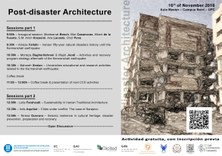 POST-DISASTER ARCHITECTURE