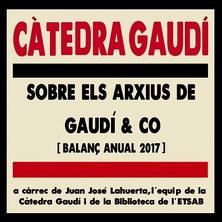 ELS ARXIUS DE GAUDÍ