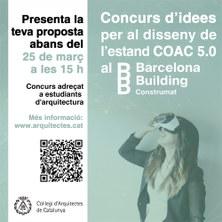 CONCURS D'IDEES - ESTAND COAC