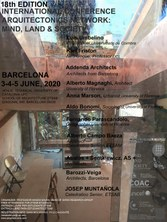 18th EDITION, INTERNATIONAL CONFERENCE ARQUITECTONICS NETWORK: MIND, LAND & SOCIETY