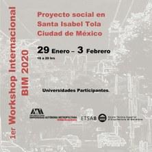 1er. WORKSHOP INTERNACIONAL BIM 2020