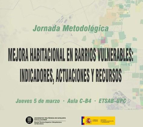 MEJORA HABITACIONAL EN BARRIOS VULNERABLES: INDICADORES, ACTUACIONES Y RECURSOS