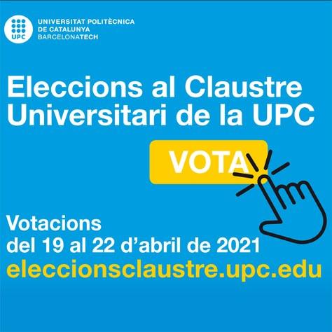 ELECCIONS CLAUSTRE UPC 2021