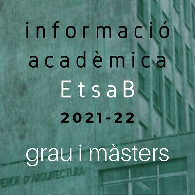 INFORMACIÓ ACADÈMICA CURS 2021-22