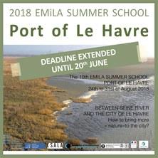 deadline extended_2018 EMiLA Summer School