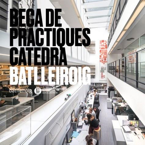 BECA PRÀCTIQUES CÀTEDRA BATLLEIROIG