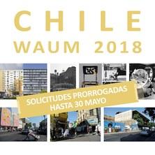 prórroga_TALLER INTERNACIONAL CHILE_WAUM 2018