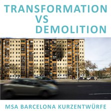 international workshop - TRANSFORMATION VS DEMOLITION