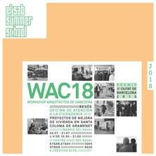 etsab summer school | WAC18 | ARQUITECTOS DE CABECERA