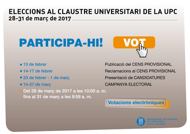 9647 cartell eleccions claustre 2017 canalbib.jpg