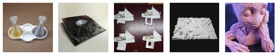 Ejemplos impresión 3D