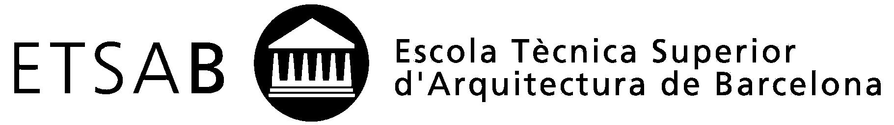 Escola Tècnica Superior d'Arquitectura de Barcelona. ETSAB