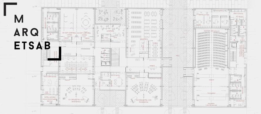 Marqetsab etsab escuela t cnica superior de arquitectura - Escuela de arquitectura de barcelona ...